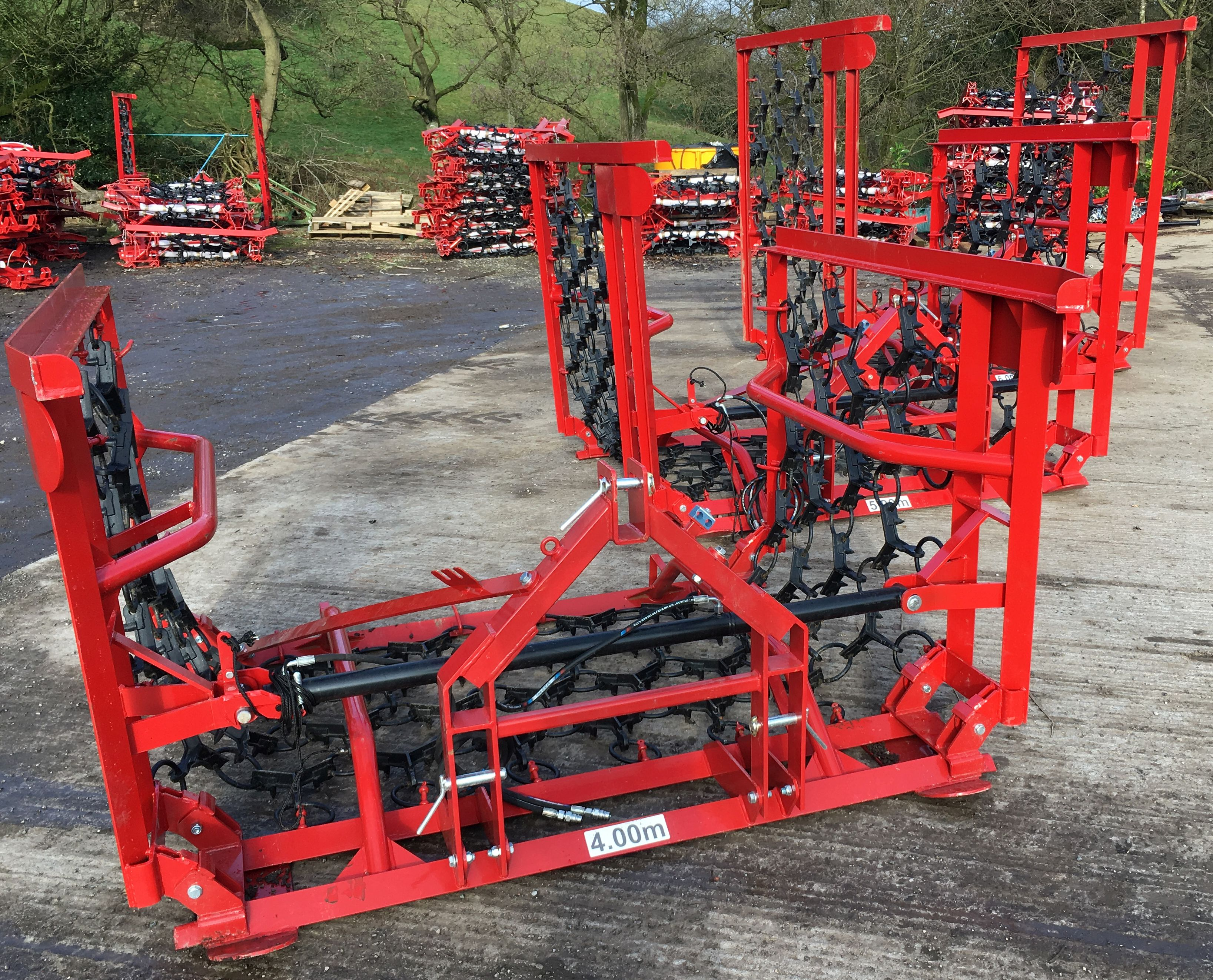 Used Tractors For Sale >> Jarmet Chain Harrows for Sale UK | Competitive Prices