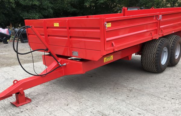 8T & 10T DROPSIDE TIPPING TRAILER