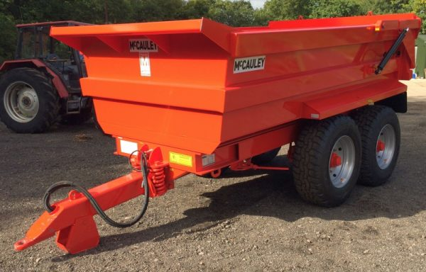 TAPERED BODY DUMP TRAILER