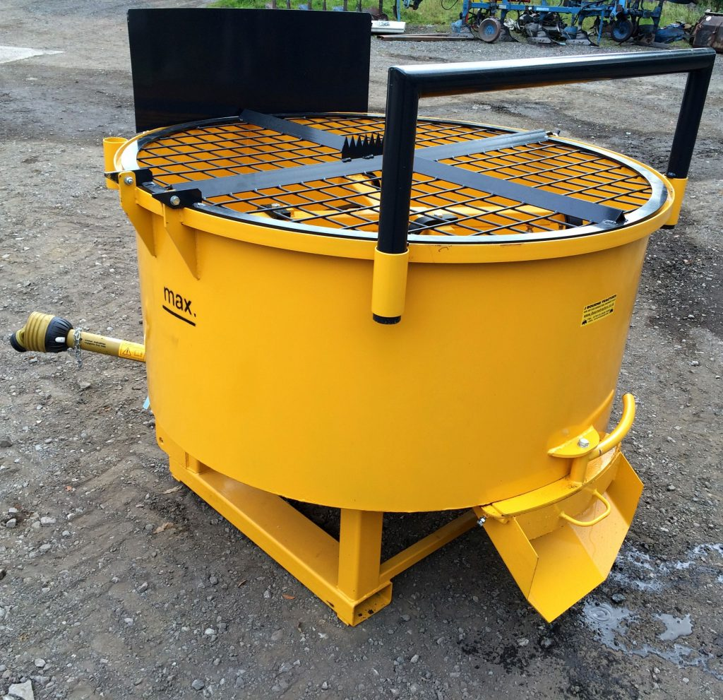 X on Cement Mixer Gearbox