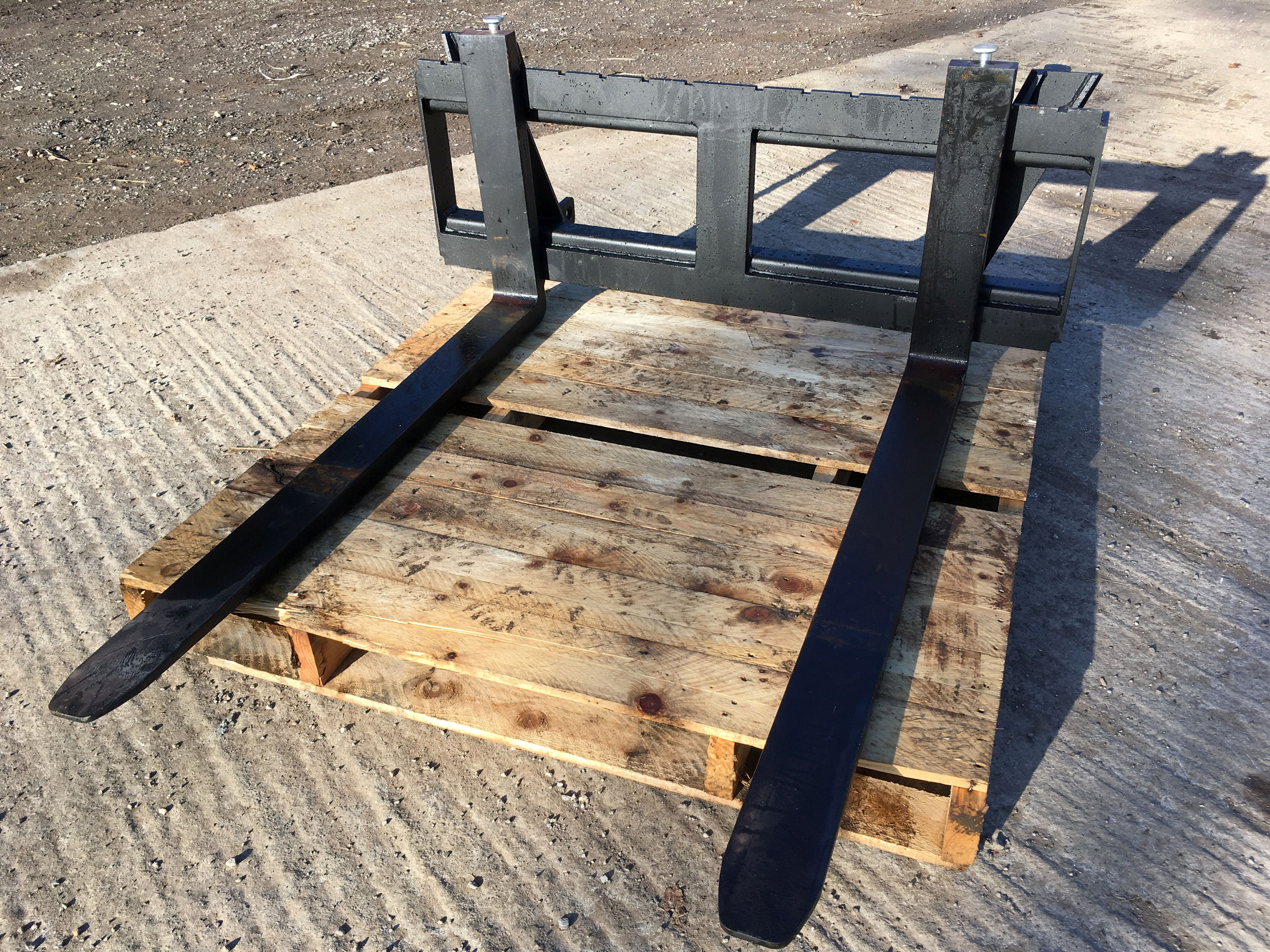 Used Tractors For Sale >> QUICKE EURO 8 TRACTOR PALLET FORKS - J Bourne Tractors