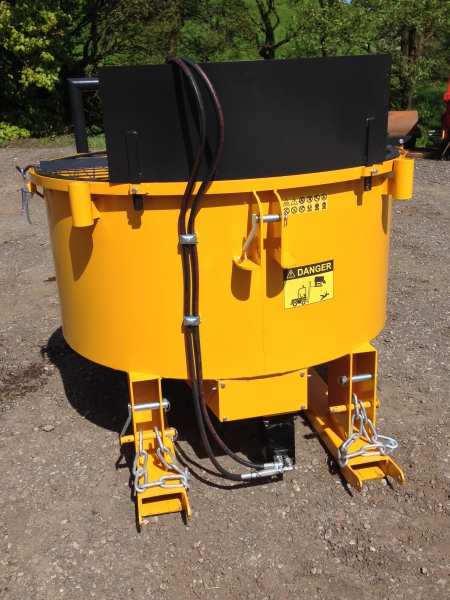 Tractor Trailer For Sale >> Hydraulic Pan Mixer | Hydraulic Pan Mixer for Sale | Competitive Deals