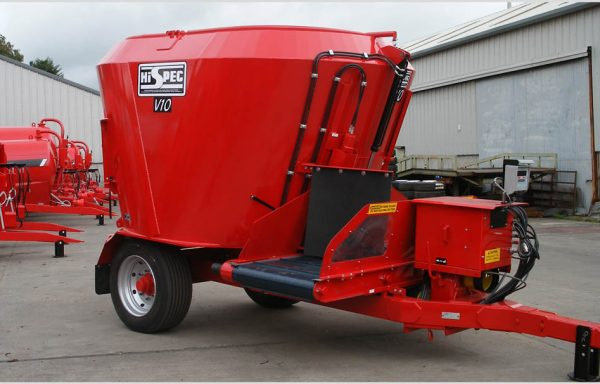 HISPEC VERTICAL AUGER MIXERS / FEEDER WAGON / STRAW BLOWER