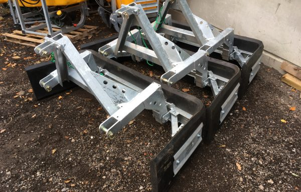GALVANISED ADJUSTABLE YARD SCRAPERS