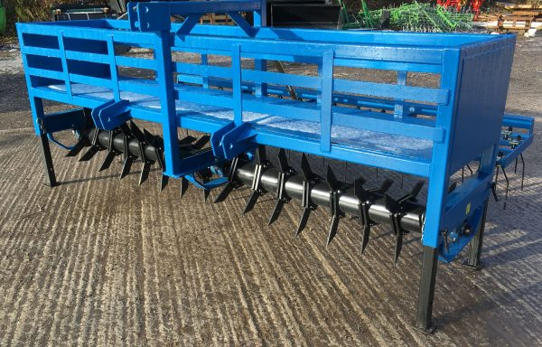 3M AERATOR WITH OPTION OF REAR SPRING TINES