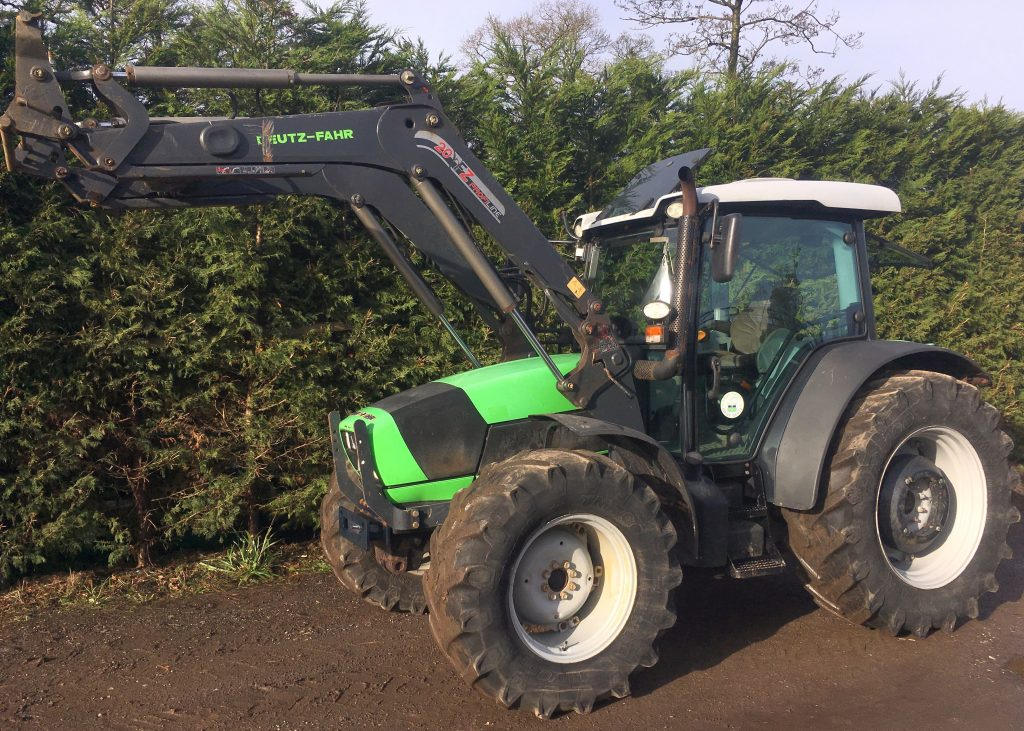 Deutz Fahr 420 Amp Loader Sold J Bourne Tractors