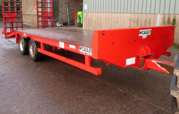 USED LOW LOADER TRAILER