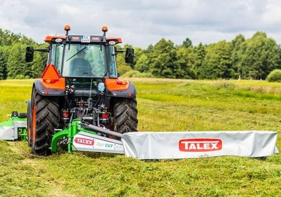 TALEX OPTI CUT DISC MOWERS
