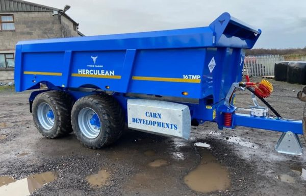 TYRONE MULTI PURPOSE HERCULEAN DUMP TRAILER