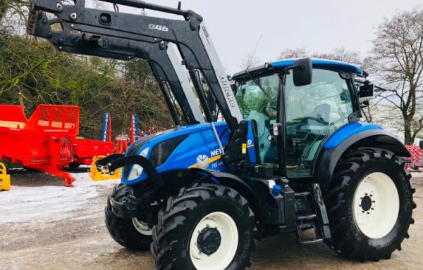 NEW HOLLAND T6.145**SOLD**